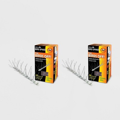 2pk 10' Stainless Steel Bird Spikes - Bird-X