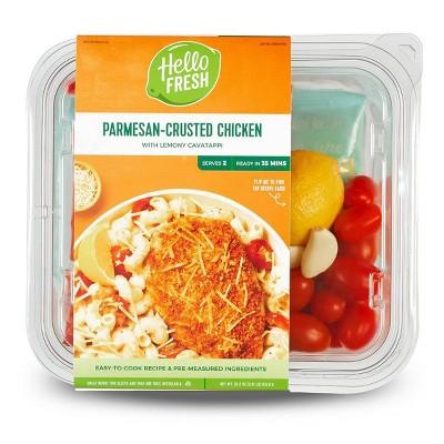 HelloFresh Parmesan-Crusted Chicken with Lemony Cavatappi Meal Kit - 32.2oz