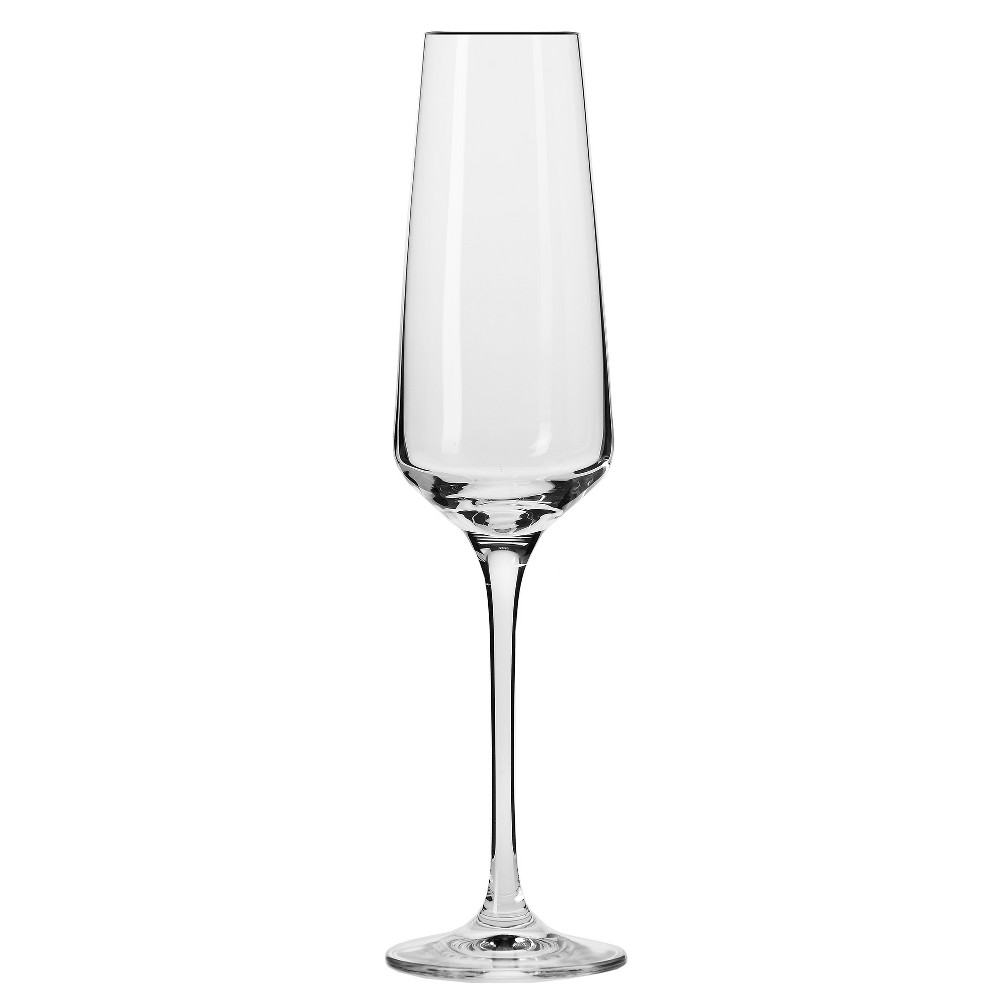 Image of KROSNO Vera Champagne Flutes 6oz. Set of 6, Clear