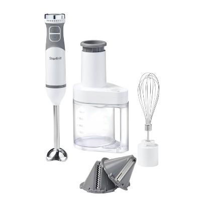Starfrit 10-Speed 4-in-1 Hand Blender - White