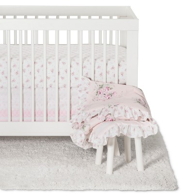 Crib Bedding Set Bouquet Rose - Simply Shabby Chic® Nursery Pink