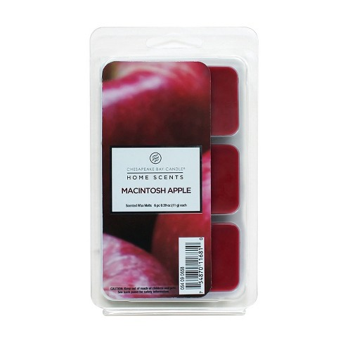 6pk Wax Melts Macintosh Apple - Home Scents By Chesapeake Bay Candle - image 1 of 1