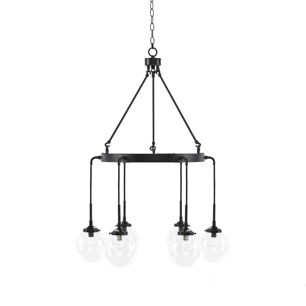 Clive Chandelier Black (Lamp Only)