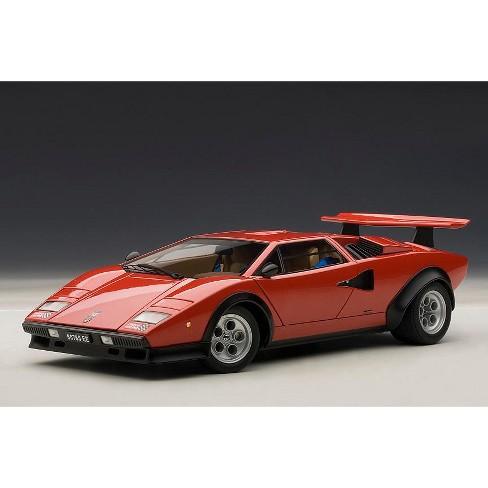 Lamborghini Countach Walter Wolf Edition Red 1 18 Diecast Car Model