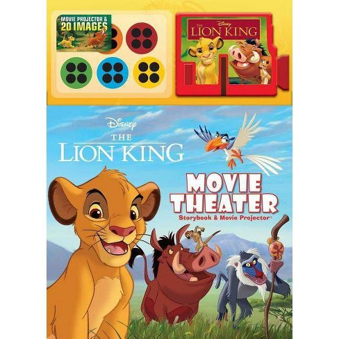 Disney The Lion King Movie Theater Storybook Movie Projector Hardcover Target