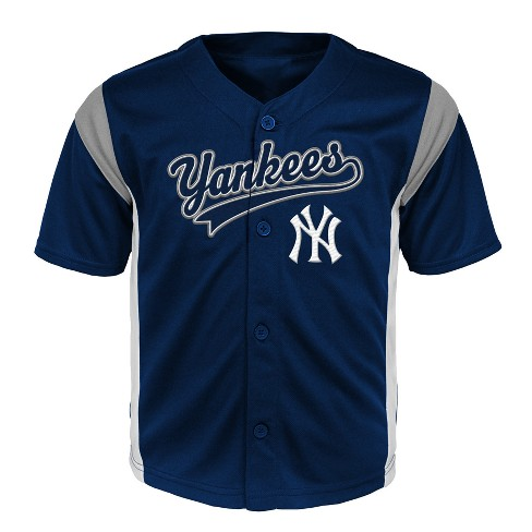 12b4769a3 New York Yankees Baby Boys  Short Sleeve Button-Down Jersey - 12 M ...