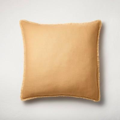 Euro Heavyweight Linen Blend Throw Pillow - Casaluna™