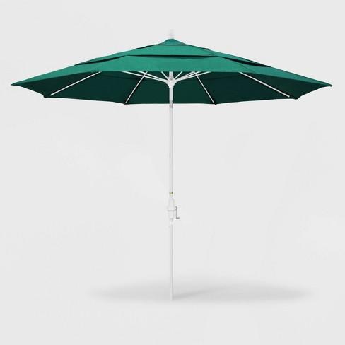 11 Aluminum Collar Tilt Patio Umbrella California All