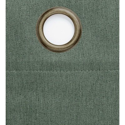 """Madison Double-Blackout Grommet Patio Panel with Wand, 106""""W x 84""""L"""