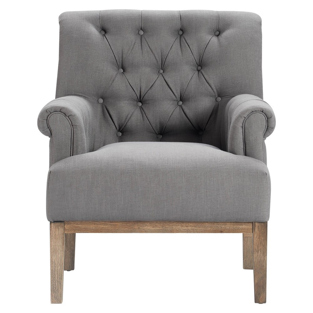 Westport Accent Chair Antique Gray - Finch Top