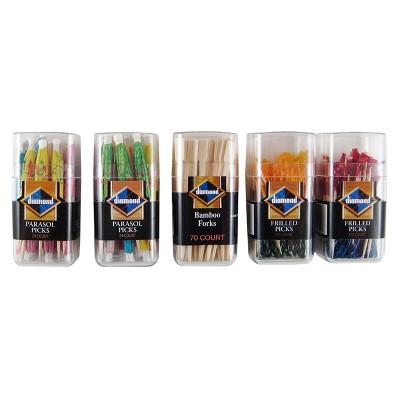 Diamond Pick Assorted Toothpicks
