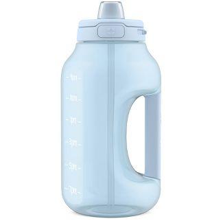 Ello Hydra 64oz Half Gallon Jug with Straw - Blue