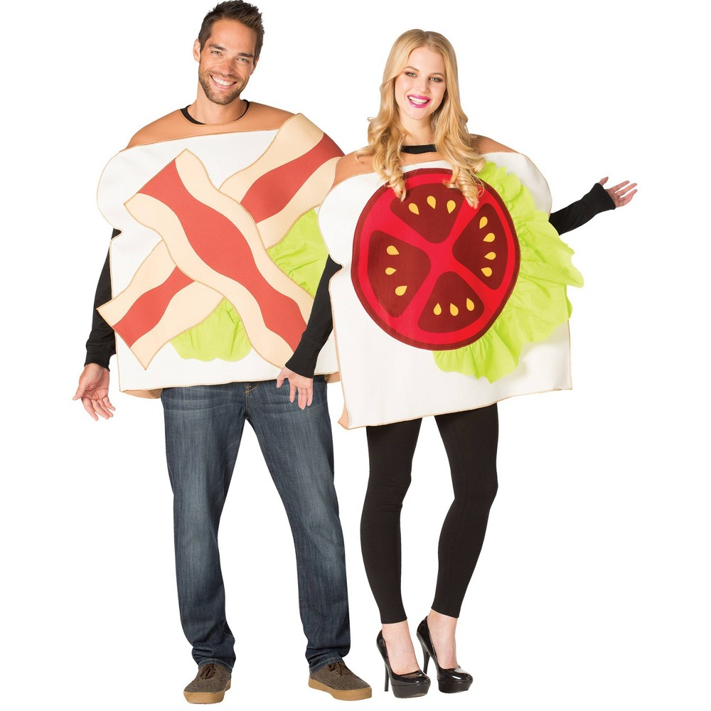 Image of Halloween Adult BLT Couple Halloween Costume One Size, Adult Unisex, MultiColored