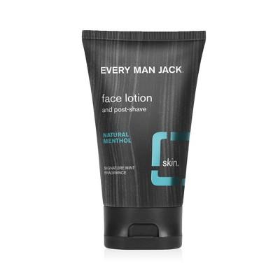 Every Man Jack Signature Mint Post-Shave Face Lotion - 4.2 fl oz