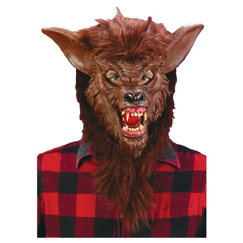 Werewolf Deluxe Mask - One Size - image 1 of 1