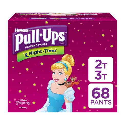 Huggies Pull-Ups Night Time Training Pants For Girls - Super Pack (Select Size) - image 1 of 4