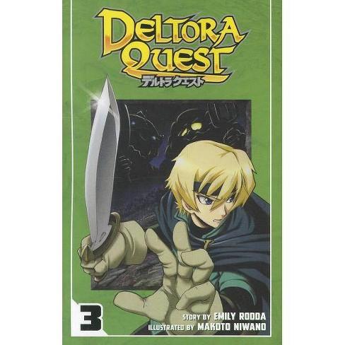 Deltora Quest, Volume 3 - (Deltora Quest Manga) by  Emily Rodda (Paperback) - image 1 of 1
