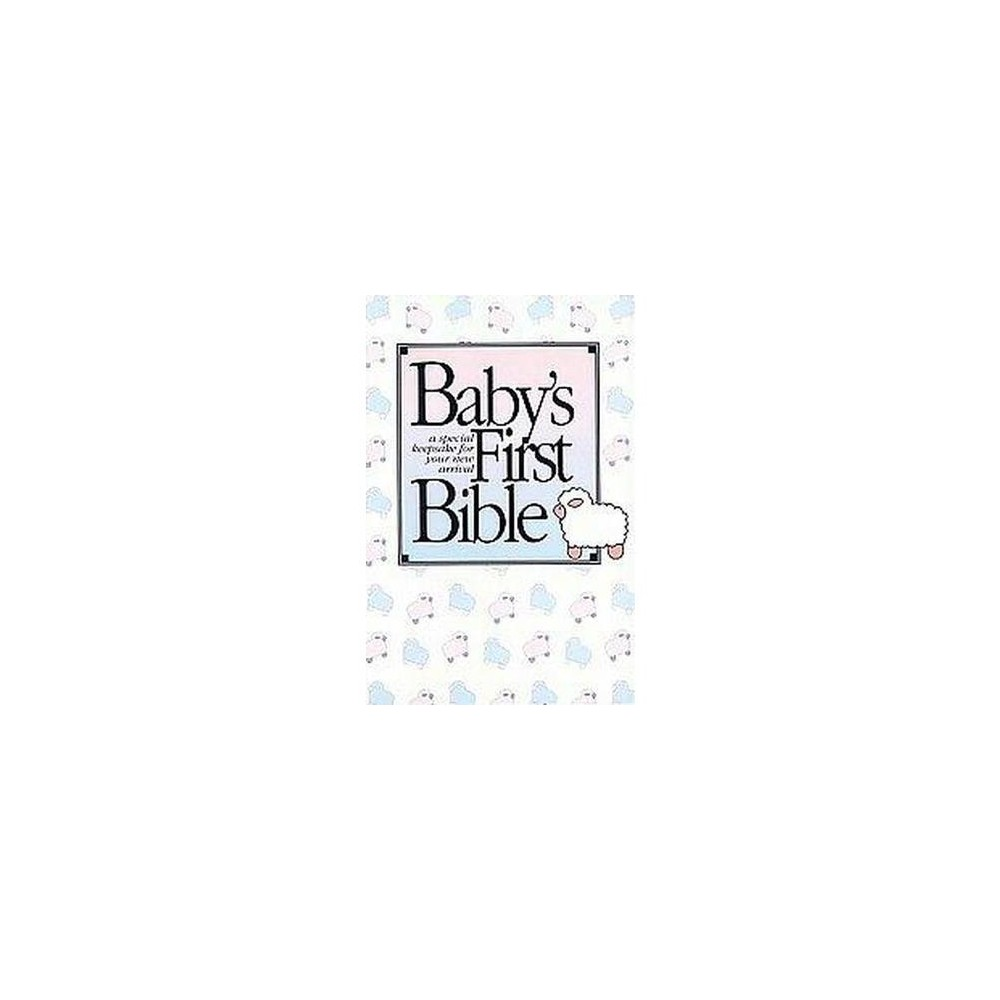 Baby's First Bible : King James Version/White/Pbn, 112C (Hardcover)