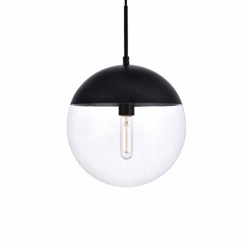 "Elegant Lighting LD6039 Eclipse Single Light 12"" Wide Pendant - image 1 of 1"
