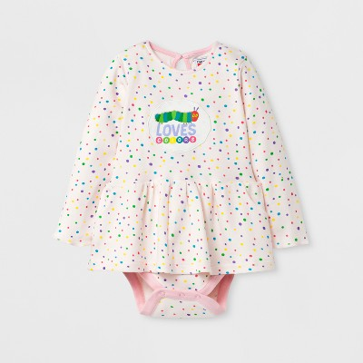 Baby Girls' The World of Eric Carle® Romper - Pink 3 M