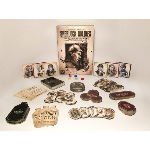 Sherlock Holmes and Moriarty's Web Board Game - image 1 of 1