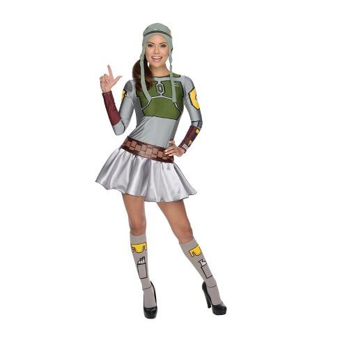 Women's Star Wars Boba Fett Skirt Halloween Costume - image 1 of 1