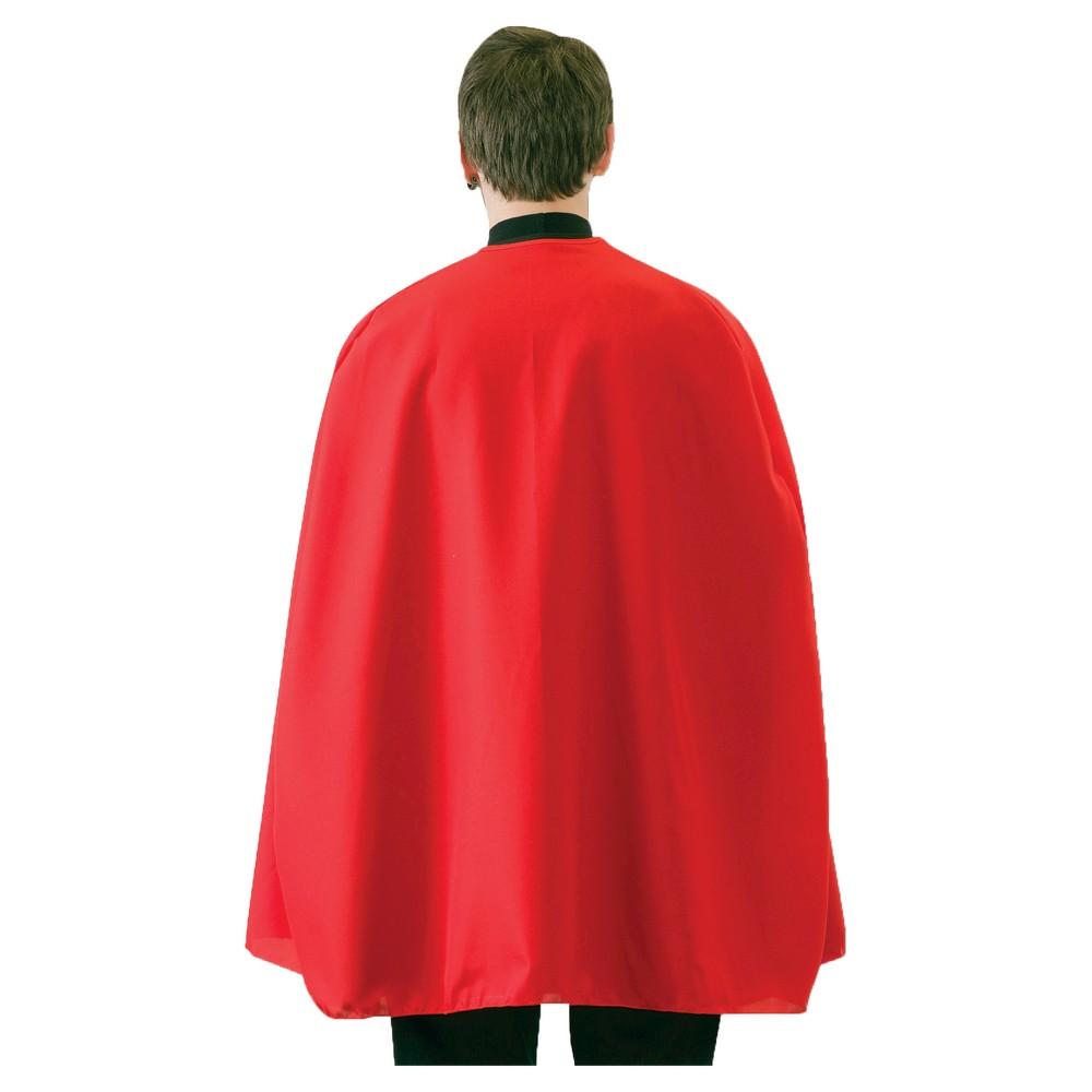 Superhero Cape Adult Red 36, Men's