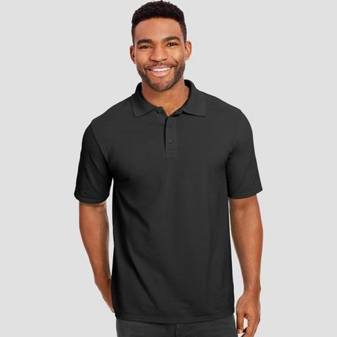 Hanes Men's Short Sleeve X-Temp Performance Pique Polo Shirt - image 1 of 2