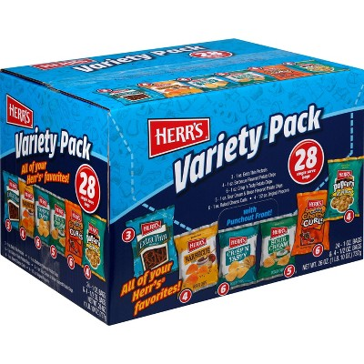 Herr's Variety Pack - 32ct