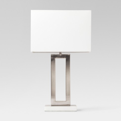 Weston Window Pane Table Lamp Silver Project 62 Target