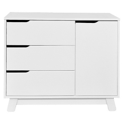 Babyletto Hudson 3-Drawer Changer Dresser with Changing Tray - White