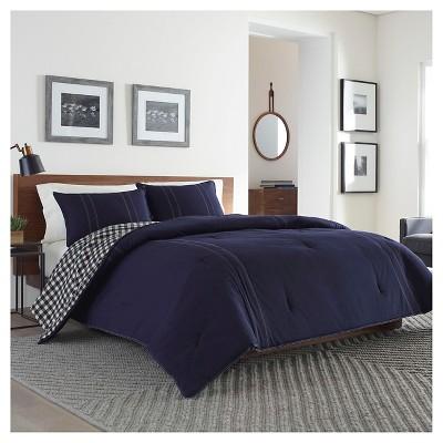 Navy Kingston Comforter Set (King)- Eddie Bauer®