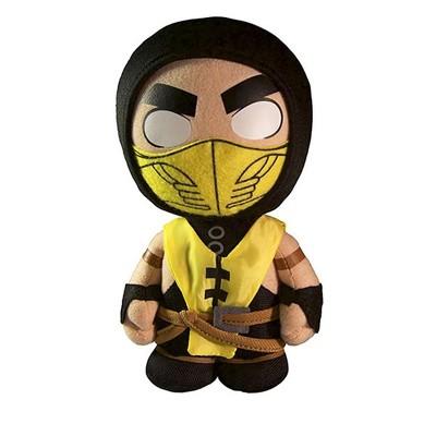 """Mezco Toyz Mortal Kombat X 8"""" Scorpion Plush"""