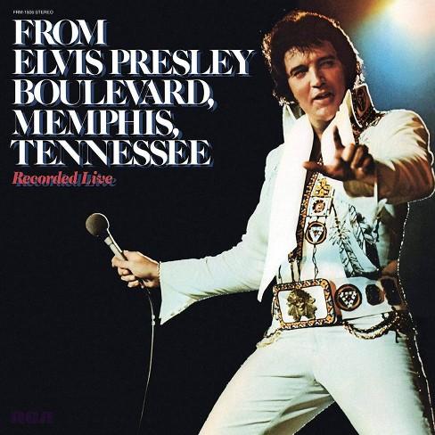 Elvis Presley - From Elvis Presley Boulevard Memphis Tennessee (Vinyl) - image 1 of 1