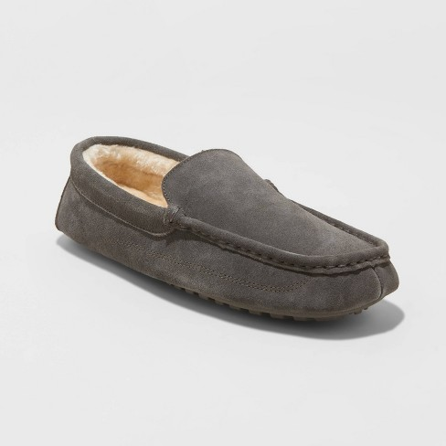 Men's Carlo Slippers - Goodfellow & Co™ Gray 12 - image 1 of 4