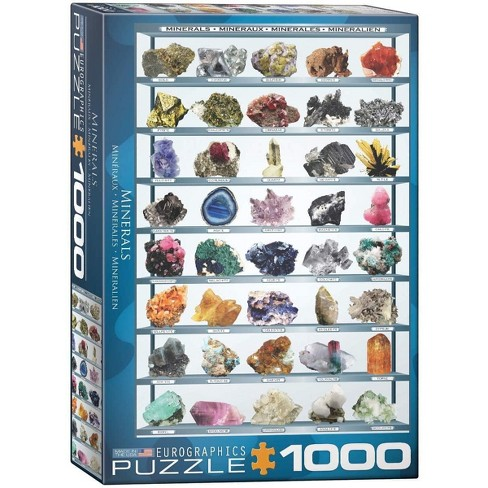 Eurographics Inc. Minerals of the World 1000 Piece Jigsaw Puzzle - image 1 of 4