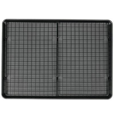 "Wilton 15""x21"" Mega Cookie Sheet with Two Cooling Racks"