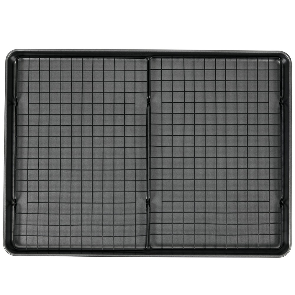 Wilton 15x21 Mega Cookie Sheet with Two Cooling Racks was $20.0 now $10.0 (50.0% off)