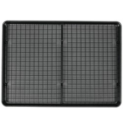 """Wilton 15""""x21"""" Mega Cookie Sheet with Two Cooling Racks"""