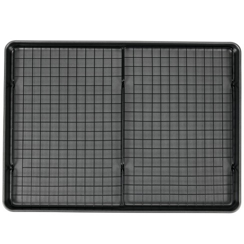 "Wilton 15""x21"" Mega Cookie Sheet with Two Cooling Racks - image 1 of 4"