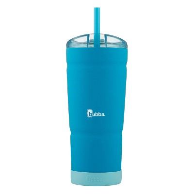 bubba 32oz Envy S Vacuum-Insulated Stainless Steel Tumbler with Straw and Bumper Rubberized Tutti Fruity