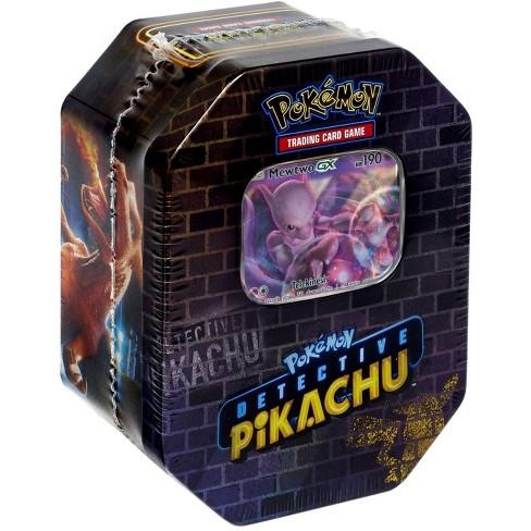 Pokemon Detective Pikachu Tin Set Mewtwo Target