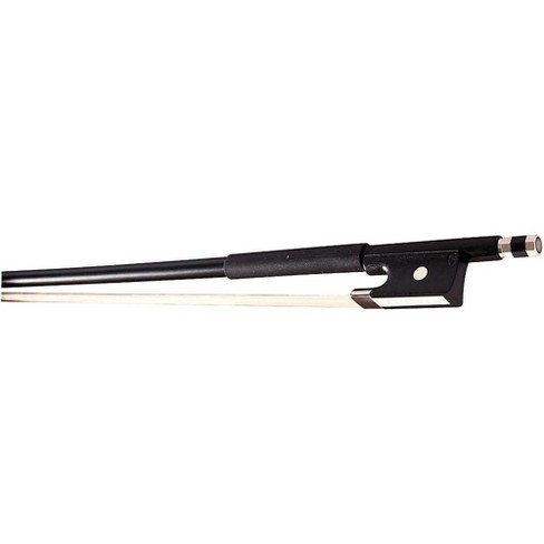 Glasser Violin Bow Fiberglass Half-Lined Frog Leatherette Grip - image 1 of 2