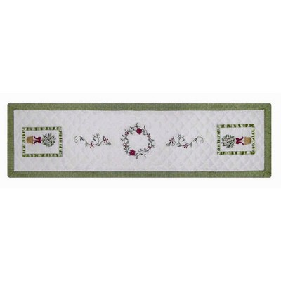 "C&F Home 14"" x 51"" Christmas Topiary Runner"