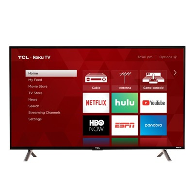 TCL 40  1080p Smart LED Roku TV (40S325)