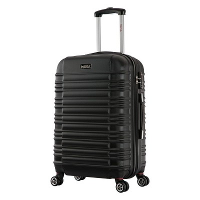 InUSA New York 28  Hardside Spinner Suitcase - Black