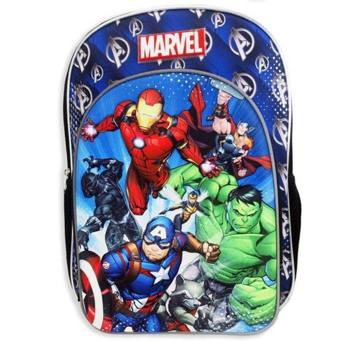 "Marvel Avengers 16"" Molded Kids' Backpack - Blue - image 1 of 5"