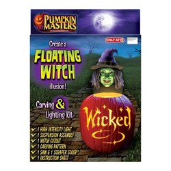 Pumpkin Masters Floating Witch Halloween Decorating Kit