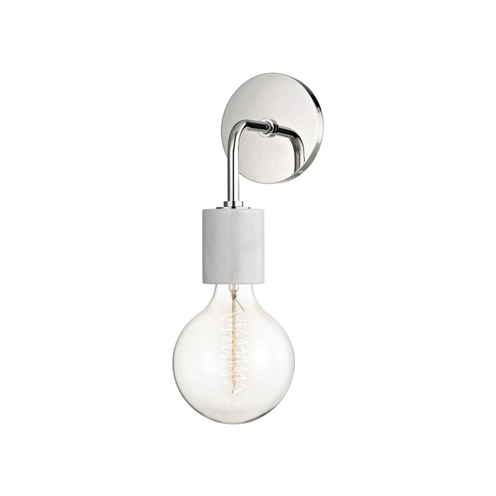 Asime 1-Light Wall Sconce Brushed Nickel - Mitzi by Hudson Valley Price