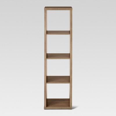 13  4-Cube Vertical Organizer Shelf Brown - Threshold™